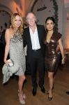 Gucci Creative Director Frida Giannini and actress Salma Hayek and husband Francois-Henri Pinault attend the Vanity Fair and Gucci Party Honoring Martin Scorsese during the 63rd Annual Cannes Film Festival at the Hotel Du Cap Eden Roc on May 15, 2010 in Cannes, France. (Photo By Daniele Venturelli/WireImage for Gucci)