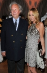 Vanity Fair Editor Graydon Carter (L) and Gucci Creative Director Frida Giannini attend the Vanity Fair and Gucci Party Honoring Martin Scorsese during the 63rd Annual Cannes Film Festival at the Hotel Du Cap Eden Roc on May 15, 2010 in Cannes, France. (Photo By Daniele Venturelli/WireImage for Gucci)
