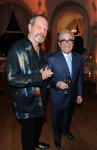 Directors Terry Gilliam (L) and Martin Scorsese  attend the Vanity Fair and Gucci Party Honoring Martin Scorsese during the 63rd Annual Cannes Film Festival at the Hotel Du Cap Eden Roc on May 15, 2010 in Cannes, France. (Photo By Daniele Venturelli/WireImage for Gucci)
