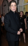 Jury members actor Benicio del Toro attends the Vanity Fair and Gucci Party Honoring Martin Scorsese during the 63rd Annual Cannes Film Festival at the Hotel Du Cap Eden Roc on May 15, 2010 in Cannes, France. (Photo By Daniele Venturelli/WireImage for Gucci)