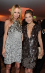Gucci Creative Director Frida Giannini (L) and Elsa Pataky attend the Vanity Fair and Gucci Party Honoring Martin Scorsese during the 63rd Annual Cannes Film Festival at the Hotel Du Cap Eden Roc on May 15, 2010 in Cannes, France. (Photo By Daniele Venturelli/WireImage for Gucci)
