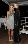 Gucci Creative Director Frida Giannini (L) and model Karolina Kurkova attend the Vanity Fair and Gucci Party Honoring Martin Scorsese during the 63rd Annual Cannes Film Festival at the Hotel Du Cap Eden Roc on May 15, 2010 in Cannes, France. (Photo By Daniele Venturelli/WireImage for Gucci)