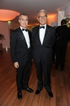 Giampaolo Letta (L) and Carlo Rossella attend the Vanity Fair and Gucci Party Honoring Martin Scorsese during the 63rd Annual Cannes Film Festival at the Hotel Du Cap Eden Roc on May 15, 2010 in Cannes, France. (Photo By Daniele Venturelli/WireImage for Gucci)