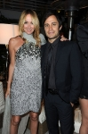 Gucci Creative Director Frida Giannini (L) and actor Gael Garcia Bernal attend the Vanity Fair and Gucci Party Honoring Martin Scorsese during the 63rd Annual Cannes Film Festival at the Hotel Du Cap Eden Roc on May 15, 2010 in Cannes, France. (Photo By Daniele Venturelli/WireImage for Gucci)