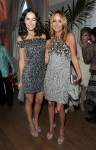 Gucci Creative Director Frida Giannini and actress Camilla Belle attend the Vanity Fair and Gucci Party Honoring Martin Scorsese during the 63rd Annual Cannes Film Festival at the Hotel Du Cap Eden Roc on May 15, 2010 in Cannes, France. (Photo By Daniele Venturelli/WireImage for Gucci)
