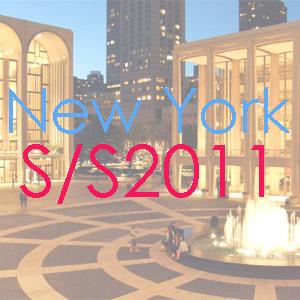 New York Fashion Week Spring 2011 logo