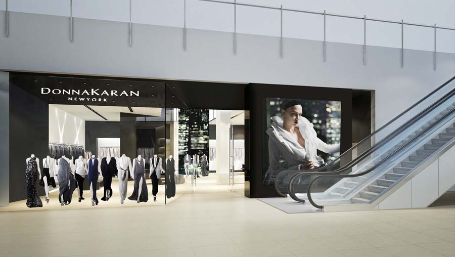 huge discount ed03b f9dee Donna Karan New York Opens First Las Vegas Store in Crystals ...