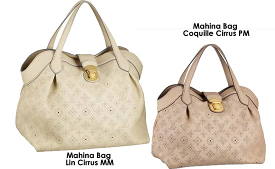 Mother s Day Gift Ideas  Louis Vuitton Mahina Bags c25095f6bc679