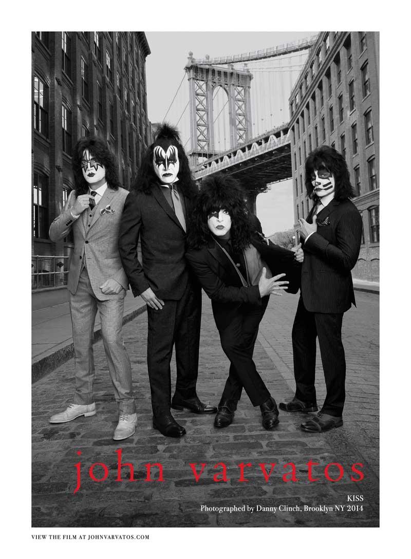 Мода и рокеры: музыканты, ставшие лицом модных домов Kiss