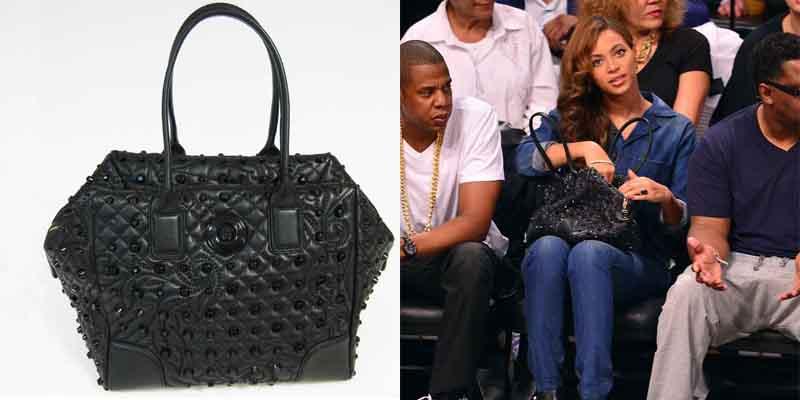 Beyonce Versace Bag 03