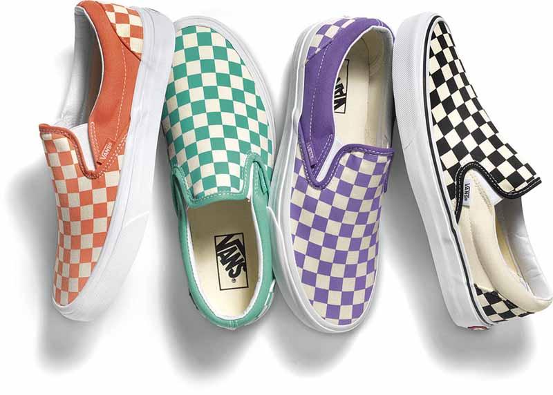 Vans Original Classic Slip-On Checkerboard Pack 3fce1fc02b