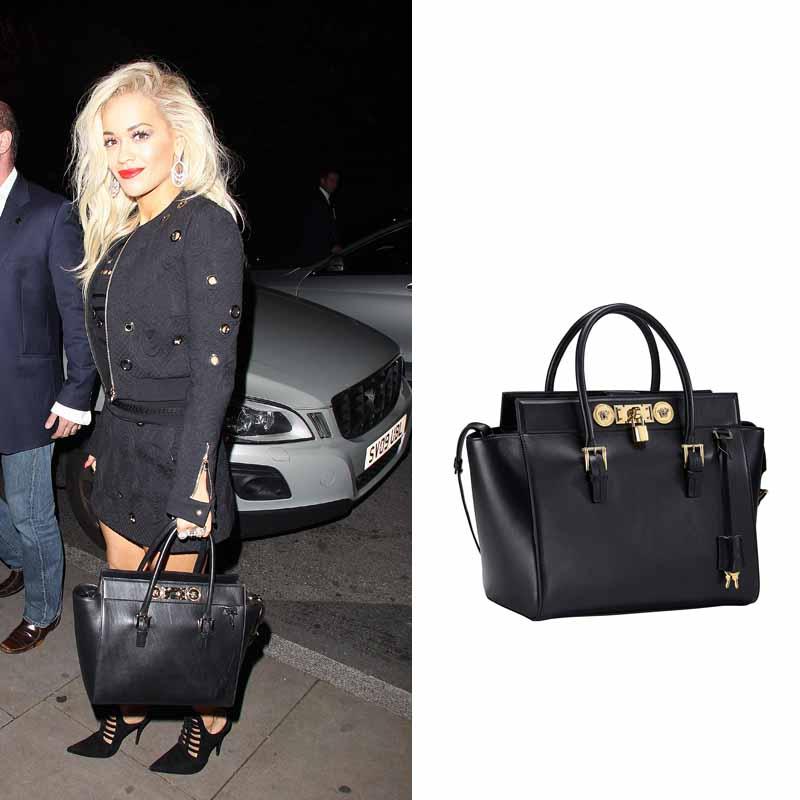 dea3135ae3b7 Rita Ora Rocks Versace and Roberto Cavalli - FashionWindows Network