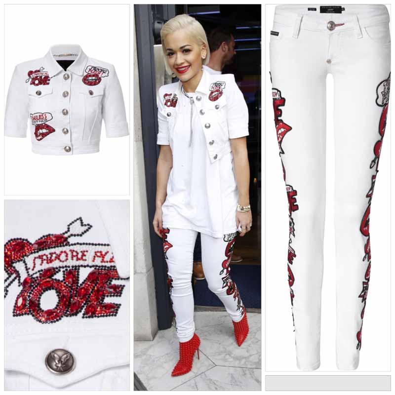 8ddde937045a Rita Ora wears Philipp Plein - FashionWindows Network