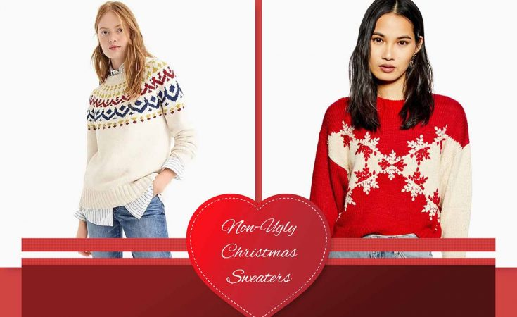 Non Ugly Christmas Sweaters